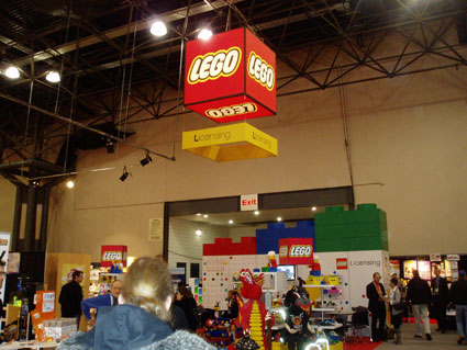 LEGO Licensing Toy Fair 2010