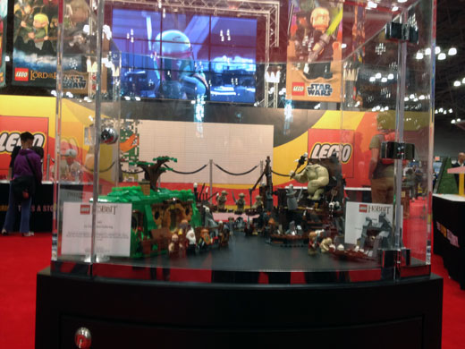 LEGO at New York Comic Con 2012
