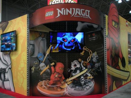LEGO NINJAGO Toy Fair 2011