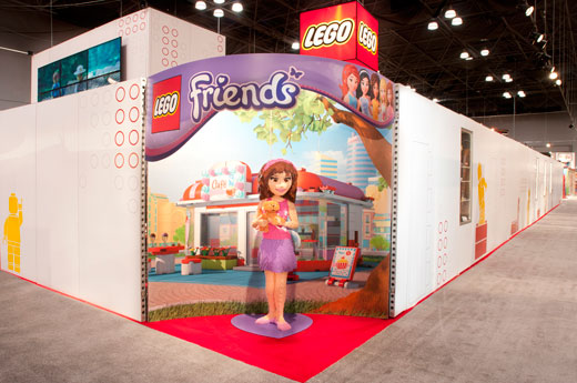 LEGO at Toy Fair 2012