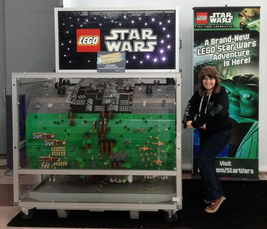 LEGO At Toy Fair 2013 - Star Wars Barrel Organ
