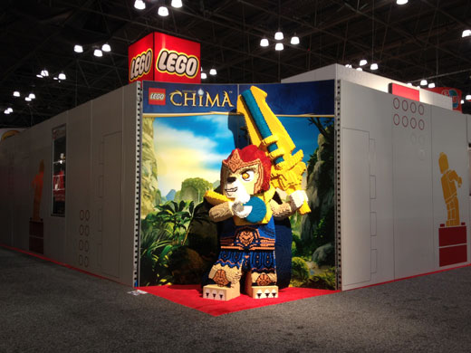 LEGO At Toy Fair 2013 - Chima - Laval Model
