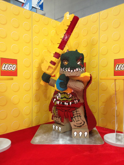 LEGO At Toy Fair 2013 - Chima - Cragger Model