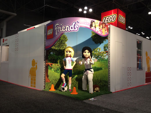 LEGO At Toy Fair 2013 - Friends - Emma and Stephanie Models