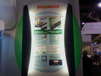 Osram Sylvania's Lightfair International 2010 Exhibit by Creatacor
