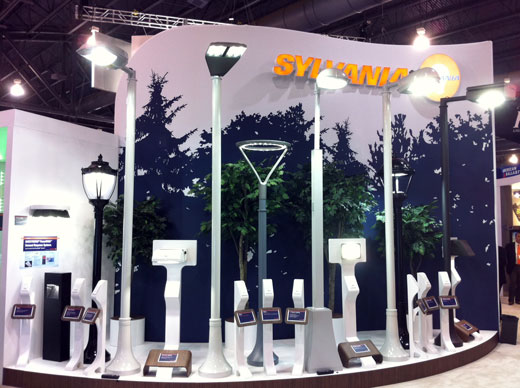 OSRAM SYLVANIA at LIGHTFAIR 2011