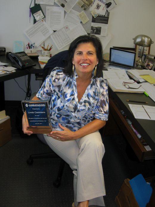 Linda Casimano Celebrates 20 Years Of Service At Creatacor