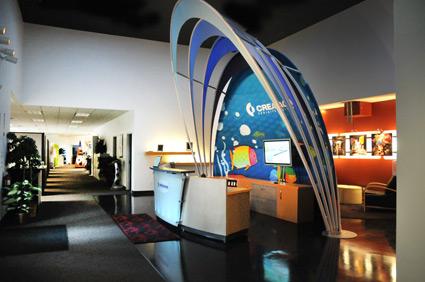 Creatacor's Lobby Display
