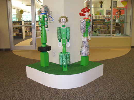 Newel People in the Clifton Park-Halfmoon Library