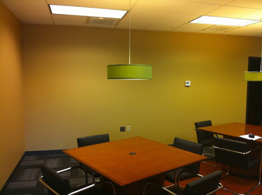 nfrastructure technologies conference room with table