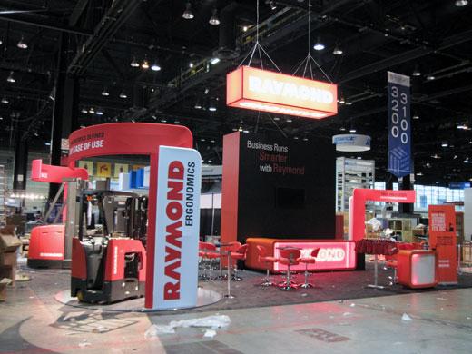 Raymond Corporation's exhibit at ProMat 2011