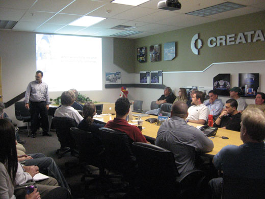 Creatacor Staff Meeting