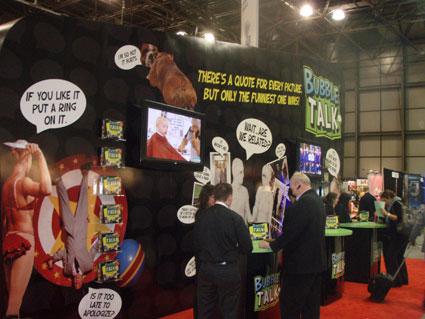 Techno Source Bubble Talk at Toy Fair 2010