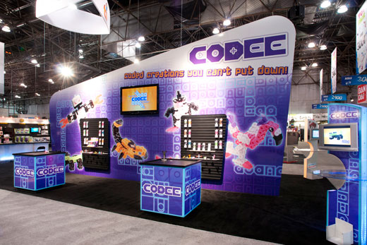 Techno Source Codee at Toy Fair 2012