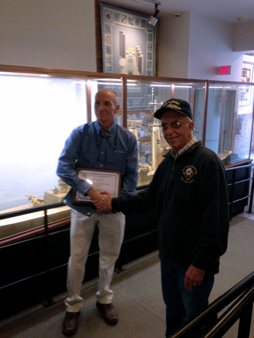 Creatacor Receives Honor From USS Albany Association