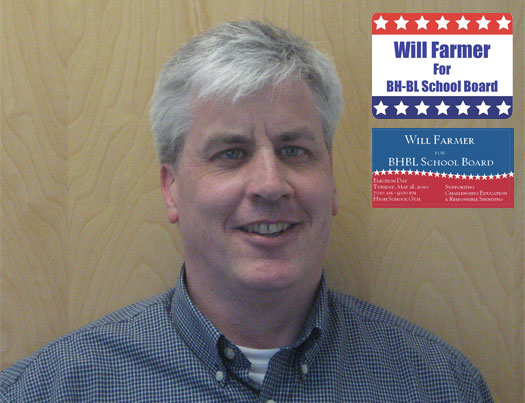 Will Farmer Elected to Burnt Hills-Ballston Lake School Board