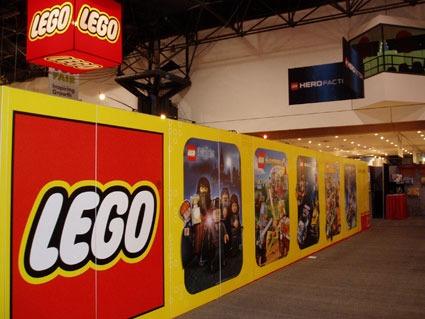 Creatacor Lego event marketing wall