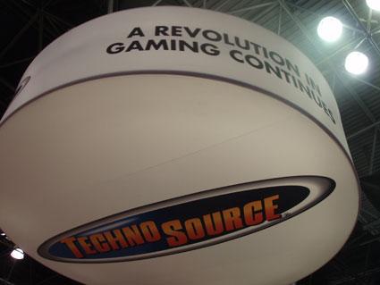 Techno Source exhibit display by Creatacor
