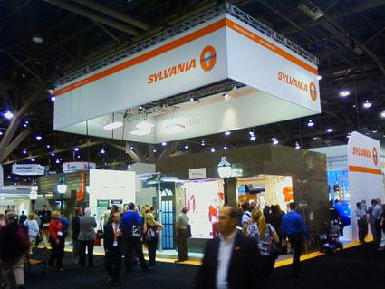 Sylvania Osram trade show display