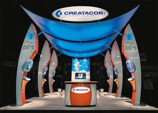 Custom fabrication and trade show display company, Creatacor, NY, New York