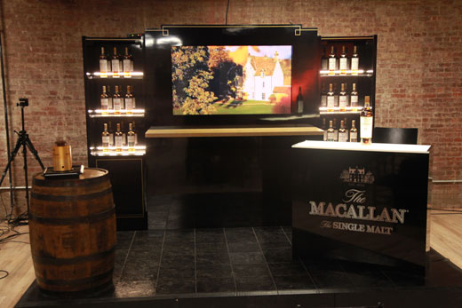 MaCallan Bar Display