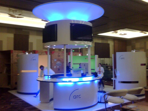 ARC trade show booth