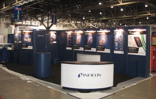 Inficon booth