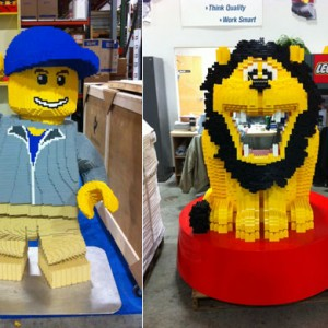 LEGO Models Getting Special Treatment At Creatacor