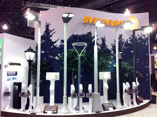 Sylvania lighting booth
