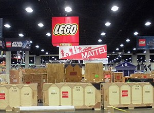 San Diego Comic-Con 1st Day Set Up