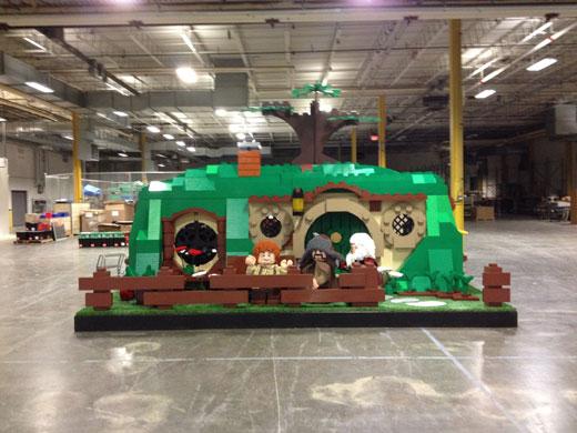Large lego display