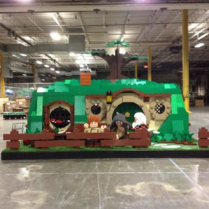 LEGO Goes Life-Size For An Unexpected Gathering