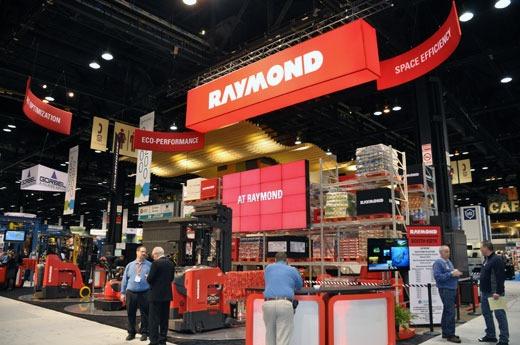 Raymond trade show booth
