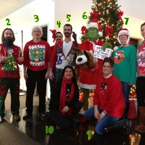 Creatacor's 2nd Annual Ugly Holiday Attire Contest – WINNERS!