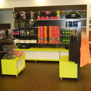 Creatacor Designs Retail Displays for VENT Fitness