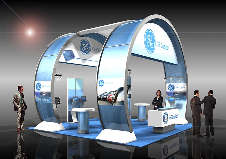 Get creative with your booth to get the best ROI or your trade show program.