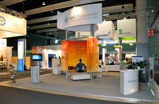 AWS truepower booth