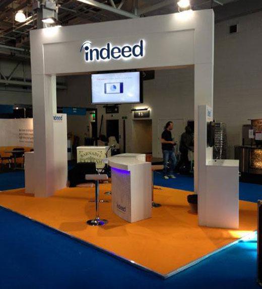 indeed booth