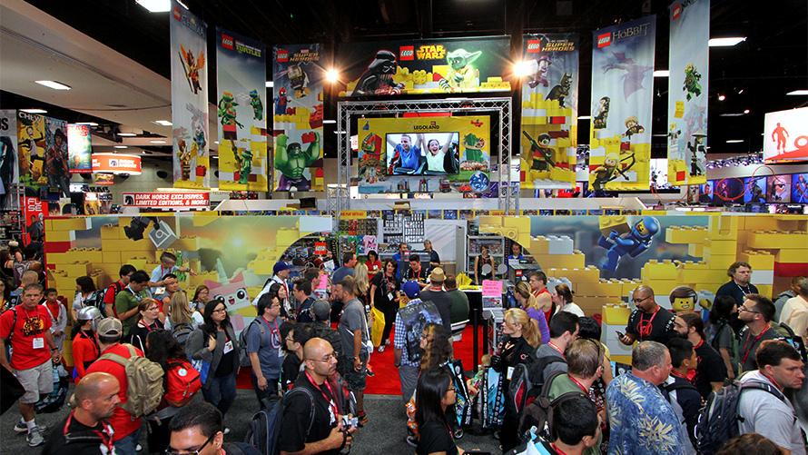 Lego Comic-Con 2014 Custom Trade Show Program