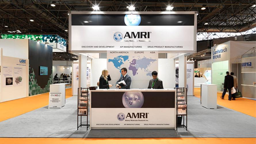 AMRI - CPHi custom trade show program