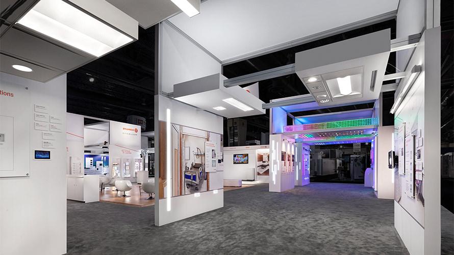OSRAM - Lightfair International custom trade show program
