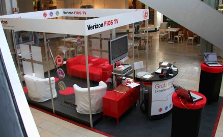 Verizon FIOS – Retail Mall