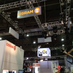 Photos: OSRAM SYLVANIA At LDI 2014