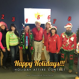 Winners: Creatacor's 3rd Annual Holiday Attire Contest