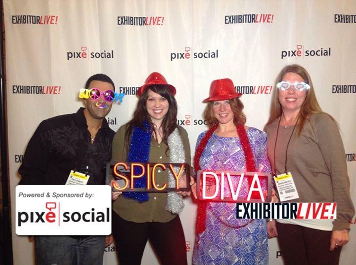 The Creatacor crew at the EXHIBITORLIVE! opening reception.