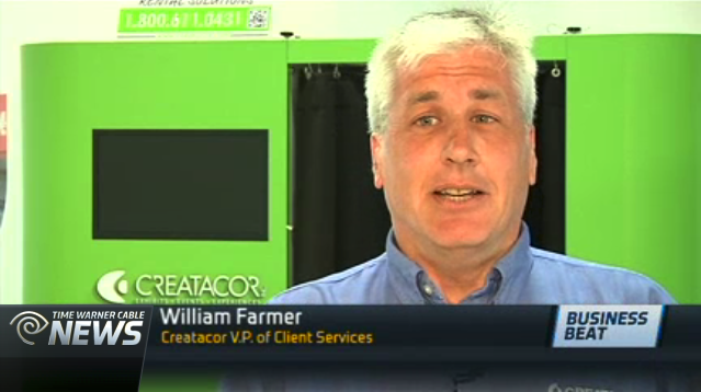 Creatacor VP of Client Services - Will Farmer, interviewed by Time Warner Cable News