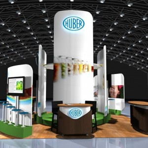 Huber's Custom Trade Show Exhibit On Display At IFT 2015