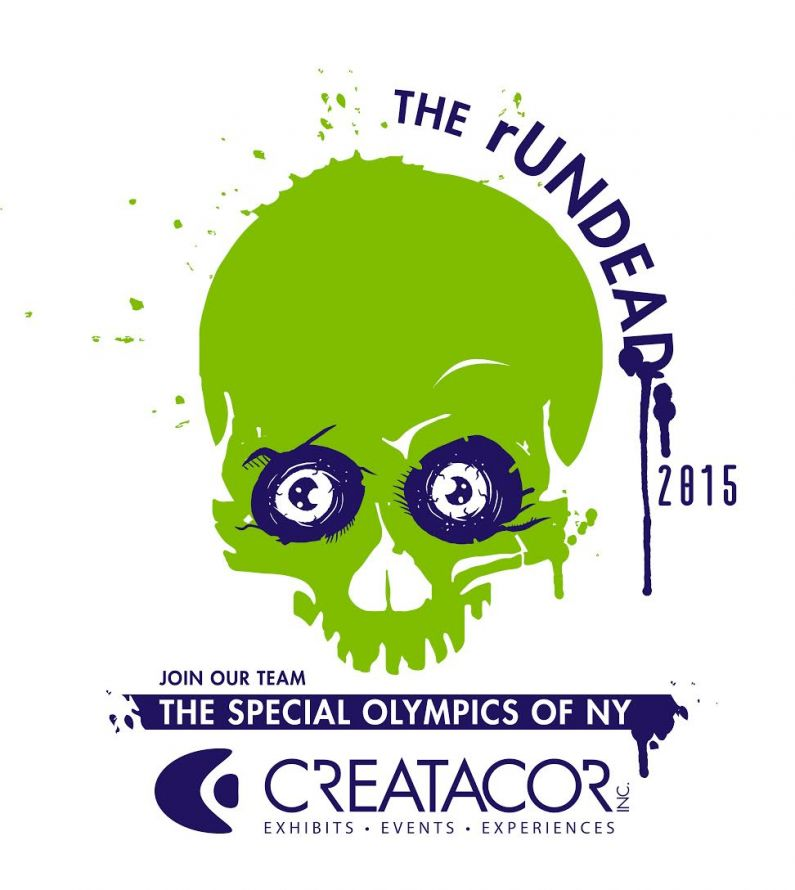 Creatacor participates in the Special Olympics Of NY's rUNDEAD 2015 5k run!