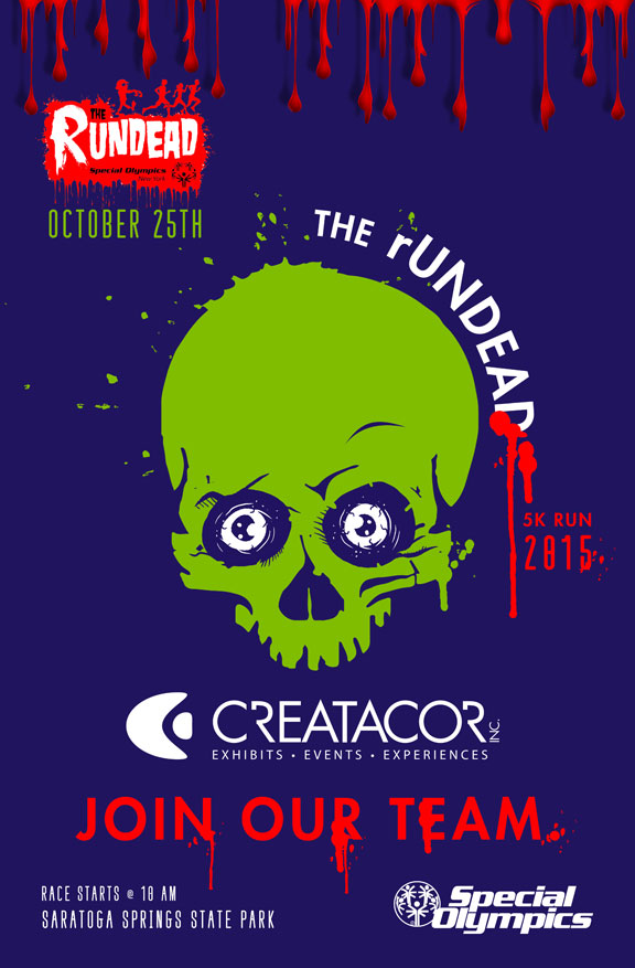 Join our Team - The rUNDEAD 5k supporting the Special Olympics Of NY