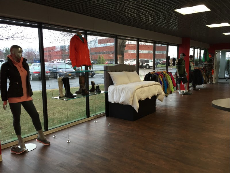 PrimaLoft's new showroom